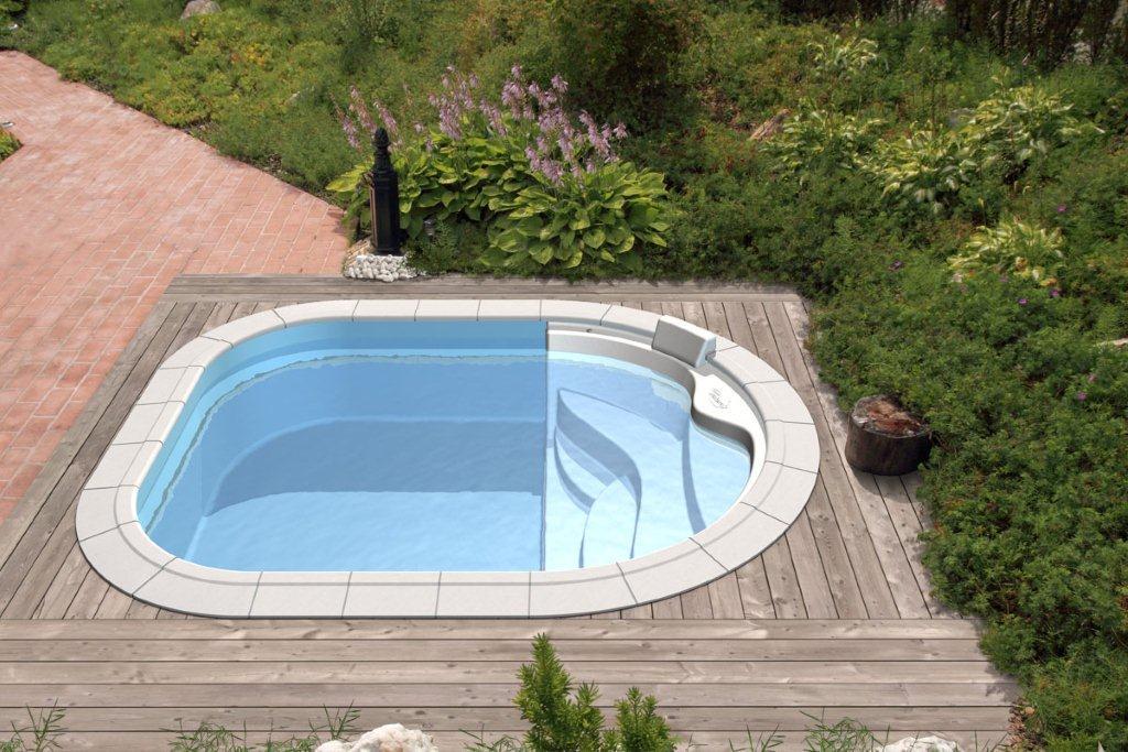 Del taglia piscine presenta le nuove piscine lola ed emma - Piccola piscina ...